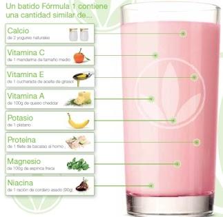 BATIDO HERBALIFE contiene los 114 nutritientes que tu cuerpo necesita y bajo en calorías