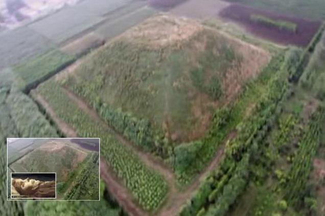 piramides na china