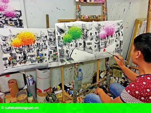Hình 2: Mỹ thuật Việt Nam: Lạc quan để nói có thị trường tranh?