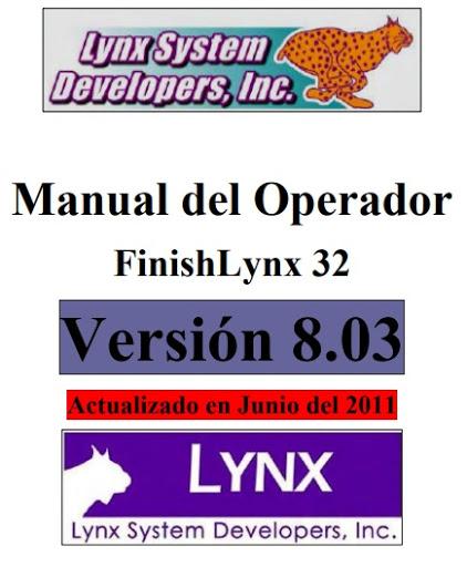 Manual Funcionamiento FinishLynx 32