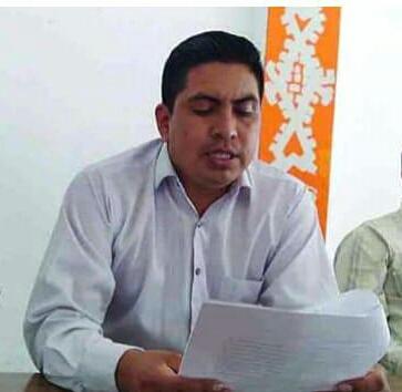 Abraham Cruz Gómez le vio la cara a los habitantes de Chenalhó
