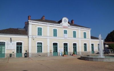 Station d'Ambert, a real landmark in the city