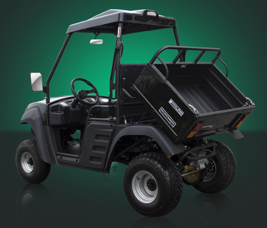 150cc Farm Utility UTV Cart Hammerhead Twister Ranger Side by Side rear Tray Black