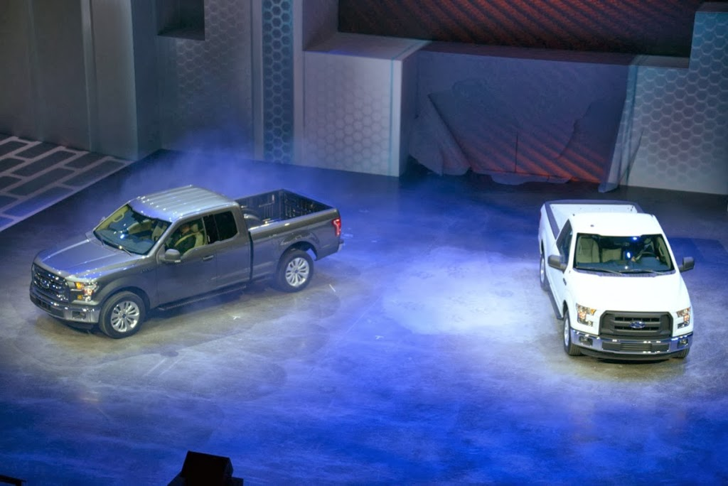 2015 Ford F-150 Unveiling NAIAS 7