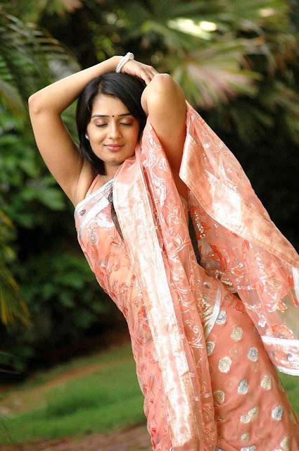 nikitha thukral in saree