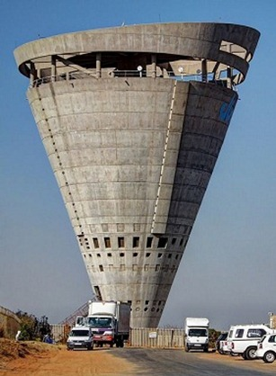 Midrand water tower, South Africa