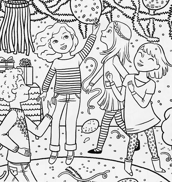 Bonggamom Finds American Girl Magazine Special Birthday Coloring Page With  American Girl Coloring Pages To Print