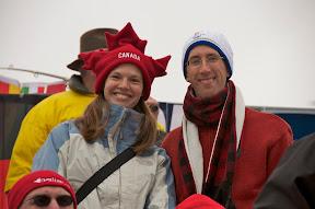 Cecilia and I at biathlon