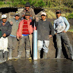 So many villagers showed tremendous pride in building their tap into the water system