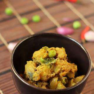 Aloo Matar Dry Recipe-How to make dry aloo matar