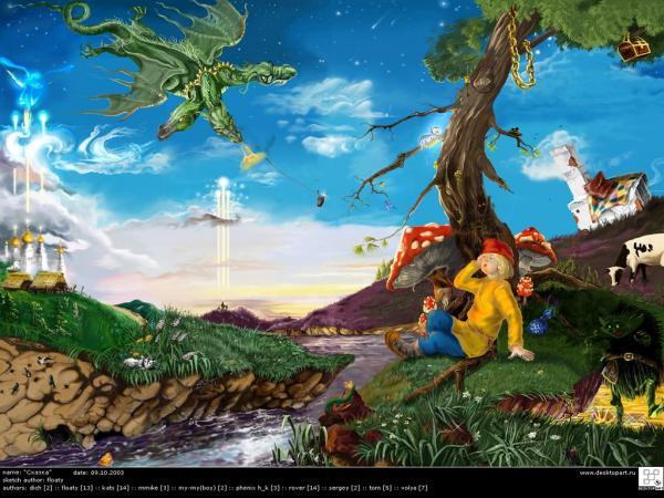 Dream Of Magick Landscape 11, Magical Landscapes 3