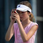 Little tennis photographer