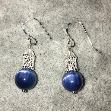 Kyanite (藍晶石) Earrings