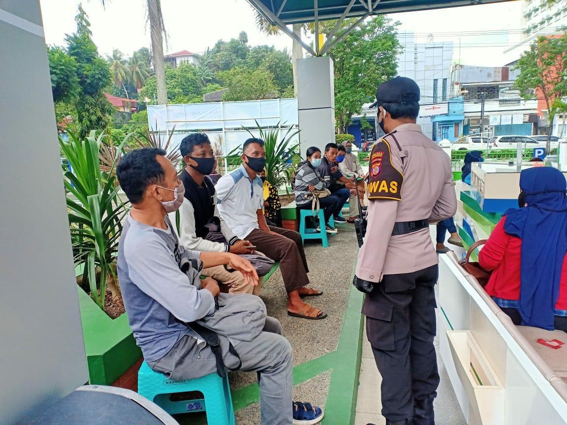 Cegah Covid-19, Polisi Terus Mengajak Warga untuk Patuhi Protokol Kesehatan