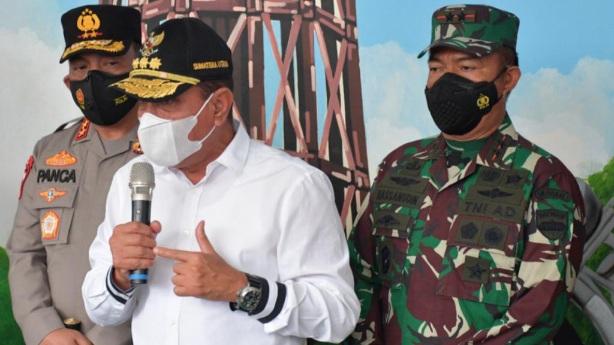 Pangdam I/BB dan Forkopimda Sumut Kunjungi Vaksinasi Poltekpar Medan dan Gojek Indonesia