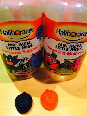 Mr Men and Little Miss Vitamins from Haliborange