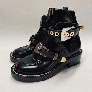 Balenciaga Cut-Out Ankle Boots