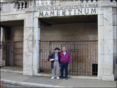 Rome Mamertine Prison with Dr Rigsby and Gordon, tb011801806