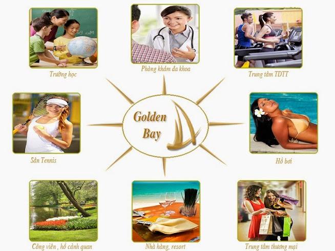 Thiên đường tiện ích tại dự án Golden Bay