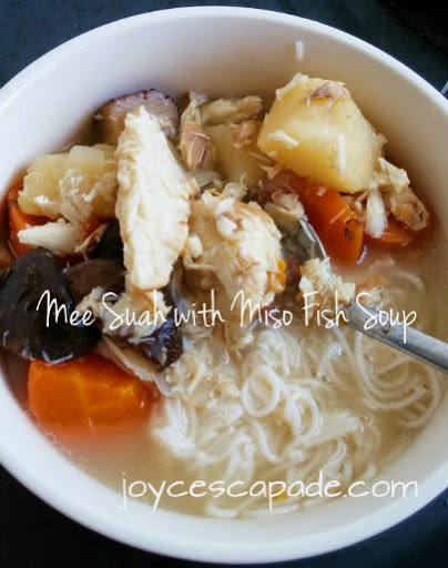Healthy tot food healthy recipes for toddlers mee suah with miso ingredients serves 2 meals 1 bunch organic mee suah 1 small ikan tenggiri cut 1 medium potato chopped 1 small carrot chopped forumfinder Gallery