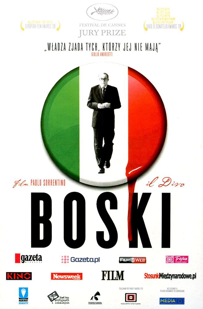 Ulotka filmu 'Boski (przód)'