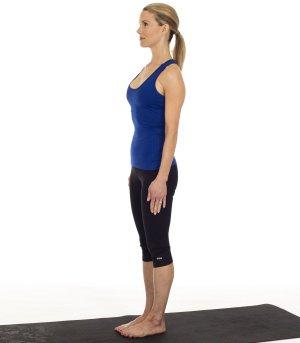 Tư thế Yoga leo núi