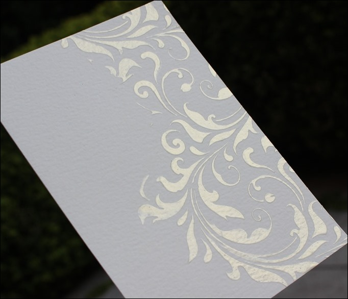 Embossing Paste Perfect Pearls Distress Ink Tim Holtz Stencil Stampin Up Love you Lots Frog Card 15