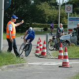 2011 07 03 Triathlon Noordwijkerhout 3 Fietsen & Lopen ( onderweg naar de Schelft ) door Lex