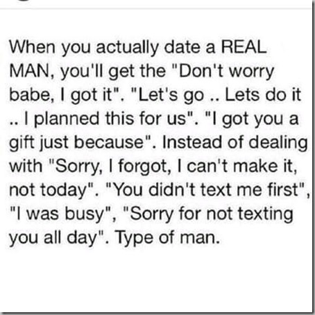 date a real man