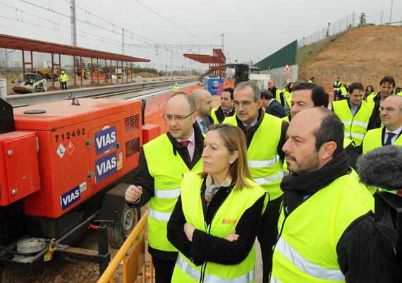 Las obras de la estación de Soto del Henares, en Torrejón de Ardoz, finalizarán en junio de 2015