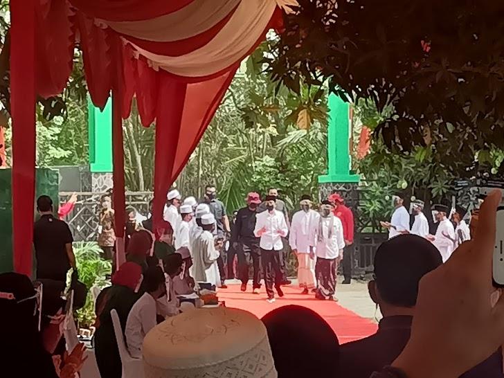 Presiden Jokowi dan Kepala BIN Budi Gunawan Pantau Vaksinasi 72.000 Pelajar dan Warga di 10 Provinsi