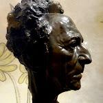 Chapelle Saint-Blaise-des-Simples : buste de Jean Cocteau par Arno Breker