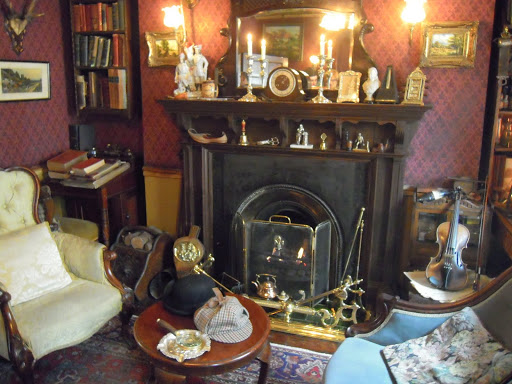 Sherlock's study, at the Sherlock Holmes Museum. From Best Museums in London and Beyond