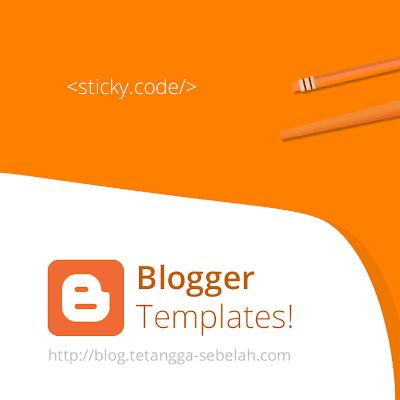 Kode-kode penting! dalam pembuatan Template Blogger/blogspot.