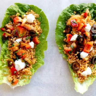 DETOX LETTUCE WRAPS WITH HOT MILLET – GLUTEN-FREE