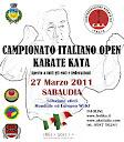 Campionato Italiano OPEN 2011 Kata - Sabaudia