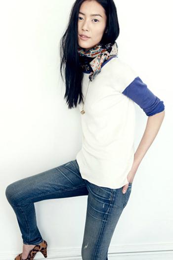 Hinh anh Phoi do dep cung quan jeans ao phong so 5