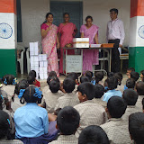 School Kit distribution at Ramnagar- 27 th June 2015