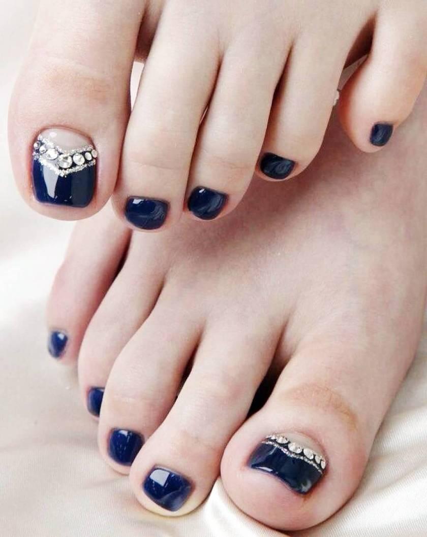 Latest Wedding Toe Nail Art Design Ideas For 2017 Styles Art