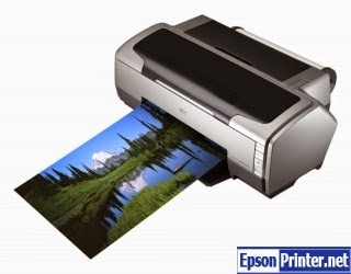 How to reset Epson R1800 with tool