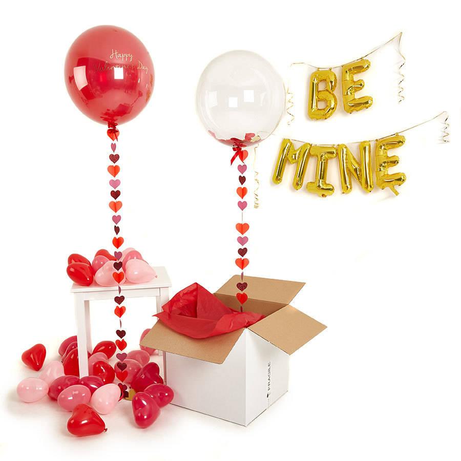 Fabulosas ideas con globos para el día de San Valentín