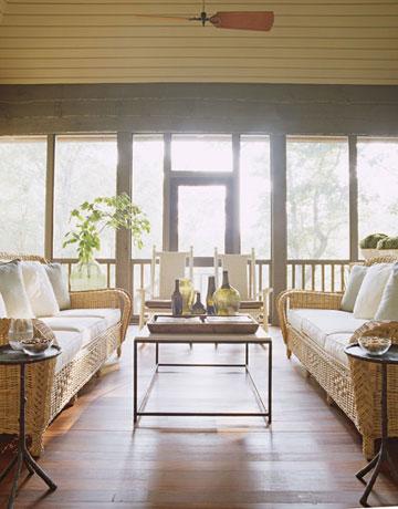 garden lake sun porch pergola outdoor room patio furniture porch ...