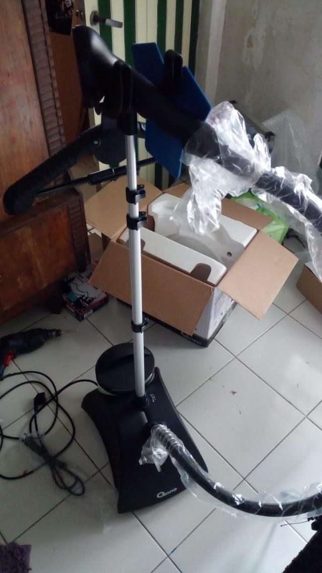 Setrika Uap, Peralatan terbaru Tim Bersih-bersih Masjid Magelang