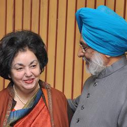 Anita Singh of Kapurthala meets Bhayee Sikandar Singh