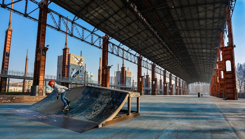 Giovani Skater crescono di Paolo Scabbia