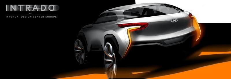 Geneva 2014 Hyundai Intrado Concept Gets Teased Early