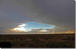 Storm near Winslow