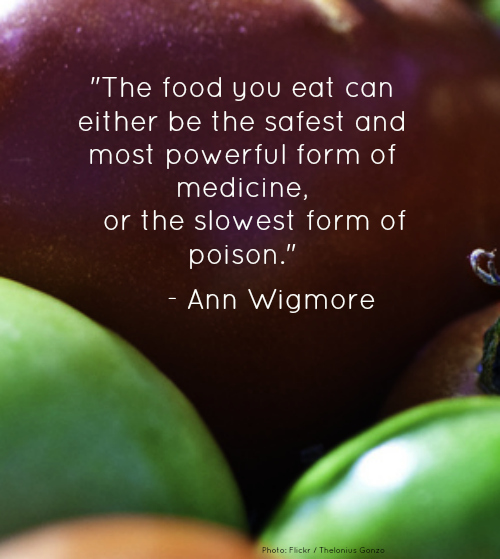 Food Quote tof the Week