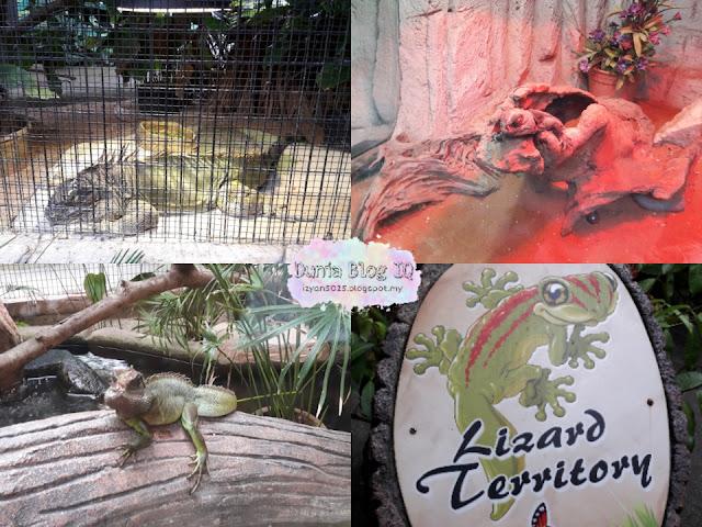 Jalan-jalan Taman Rama-rama & Reptilia di Ayer Keroh, Melaka