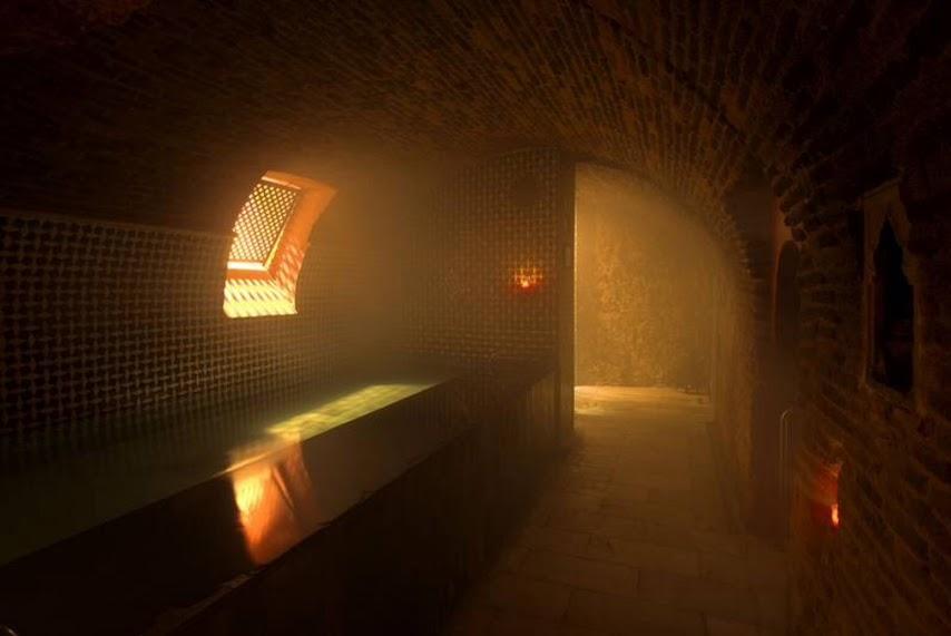 Sala fría baños árabes
